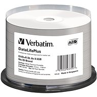 VERBATIM DVD+R DL DataLifePlus 8.5GB, 8x, thermal printable, spindle 50 ks - Média