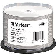 VERBATIM DVD-R DataLifePlus 4.7GB, 16x, thermal printable, spindle 50 ks - Média