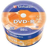 VERBATIM DVD-R AZO 4.7GB, 16x, wrap 50 ks - Média