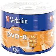 VERBATIM DVD-R DataLife 4.7GB, 16x, wrap 50 ks - Média