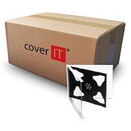 COVER IT box:2 CD 10mm jewel box + tray - karton 200ks - Obal na CD/DVD