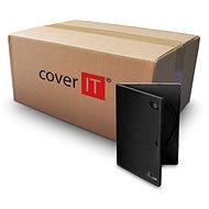 Krabička na 1ks, černá, 14mm - Obal na CD/DVD