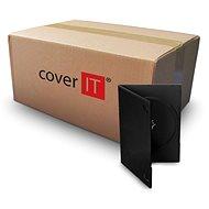 COVER IT box:1 DVD 9mm slim černý - karton 100ks - Obal na CD/DVD