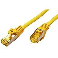 OEM S/FTP patchkabel Cat 7, s konektory RJ45, LSOH, 3m, žlutý - Síťový kabel