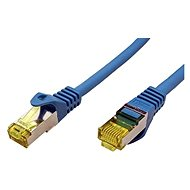 OEM S/FTP patchkabel Cat 7, s konektory RJ45, LSOH, 5m, modrý - Síťový kabel