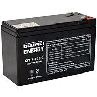 GOOWEI ENERGY Bezúdržbový olověný akumulátor OT7-12L, 12V, 7Ah - Nabíjecí baterie