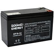 GOOWEI ENERGY Bezúdržbový olověný akumulátor OT9-12, 12V, 9Ah - Nabíjecí baterie