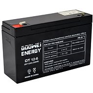 GOOWEI ENERGY OT12-6, 6V, 12Ah - Nabíjecí baterie
