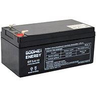 GOOWEI ENERGY OT3.4-12, 12V, 3.4Ah - Nabíjecí baterie
