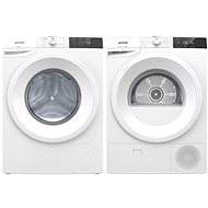 GORENJE WE723 + GORENJE DE72/G - Washer and dryer set