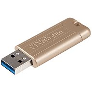VERBATIM Store 'n' Go PinStripe Anniversary Edition Gold 128GB USB 3.0, zlatá - Flash disk