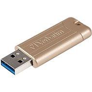 VERBATIM Store 'n' Go PinStripe Anniversary Edition Gold 64GB USB 3.0, zlatá - Flash disk