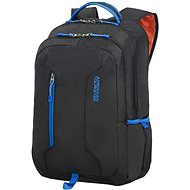 "American Tourister URBAN GROOVE UG4 LAPT. BACKPACK 15.6"" BLACK/BLUE - Batoh na notebook"