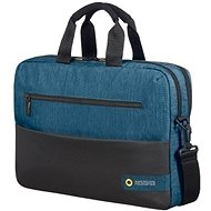 "American Tourister CITY DRIFT LAPTOP BAG 15.6"" BLACK/BLUE - Brašna na notebook"