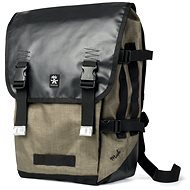 Crumpler Muli Backpack L černý/tarpaulin/khaki - Batoh na notebook