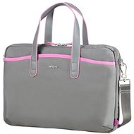 "Samsonite Nefti BAILHANDLE 13.3"" Rock Grey/Fuchsia - Brašna na notebook"