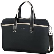 "Samsonite Nefti BAILHANDLE 15.6"" Black/Sand - Brašna na notebook"