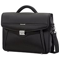 Samsonite Desklite Briefcase 1 Gusset 15.6'' Black - Taška na notebook