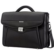 Samsonite Desklite Briefcase 2 Gussets 15.6'' Black - Taška na notebook