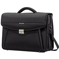 Samsonite Desklite Briefcase 3 Gussets 15.6'' Black - Taška na notebook