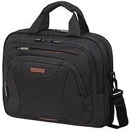 """American Tourister AT WORK LAPTOP BAG 13.3""""-14.1"""" Black/Orange"""