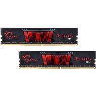 G.SKILL 16GB KIT DDR4 2400MHz CL15 Gaming series Aegis - Operační paměť