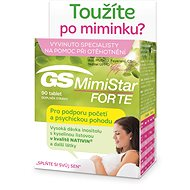 GS MimiStar Forte CZ/SK, 90 Tablets - Dietary Supplement