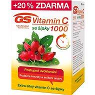 GS Vitamin C1000 + šípky tbl. 100+20 2016 ČR/SK - Vitamín C
