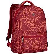 "WENGER COLLEAGUE 16"", červený fern print - Batoh na notebook"