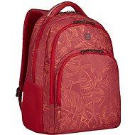 """WENGER UPLOAD 16"""", červený outline print - Batoh na notebook"""
