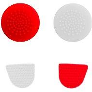 Gioteck úchyty pro PS4 červeno-bílé - Gripy na ovladač