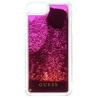 Guess Liquid Glitter Degrade Pink - Ochranný kryt