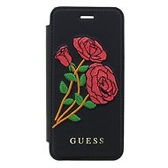 Guess Flower Desire Book pro Apple iPhone X Black