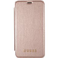 Guess Iridescent Book pro Apple iPhone X Rose Gold