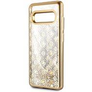 Guess Glitter 4G Peony Gold pro Samsung G975 Galaxy S10 Plus - Kryt na mobil