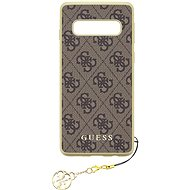 Guess Charms Hard Case 4G Brown pro Samsung G973 Galaxy S10 - Kryt na mobil