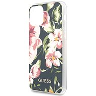 Guess Flower Shiny N.3 pro iPhone 11 Navy  - Kryt na mobil