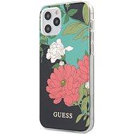Guess PC/TPU Flower N.1 pro Apple iPhone 12/12 Pro Black