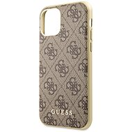 Guess 4G for iPhone 11 Brown (EU Blister) - Mobile Case