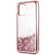 Guess 4G Peony Glitter pro iPhone 11 Pro Max Rose (EU Blister) - Kryt na mobil