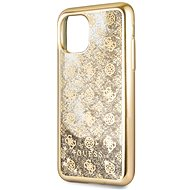 Guess 4G Peony Glitter pro iPhone 11 Pro Max Gold (EU Blister) - Kryt na mobil