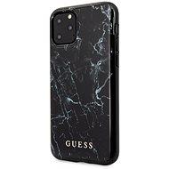 Guess Marble Design Zadní Kryt pro iPhone 11 Pro Black - Kryt na mobil