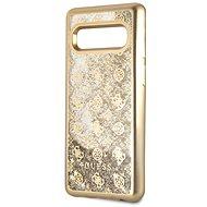 Guess Glitter 4G Peony Gold pro Samsung G973 Galaxy S10 - Kryt na mobil