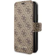 Guess 4G Book pro iPhone 11 Pro Max Brown (EU Blister) - Pouzdro na mobilní telefon