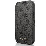 Guess 4G pro Apple iPhone 12 Mini Grey - Pouzdro na mobil