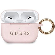 Guess Silicone Case for Airpods Pro Light Pink - Headphone Case