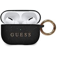 Guess Silicone Cover for Airpods Pro, Black - Case