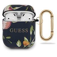 Guess Silikonové Pouzdro pro Apple Airpods 1/2 Floral N.3  - Pouzdro