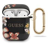 Guess Silikonové Pouzdro pro Apple Airpods 1/2 Floral N.4  - Pouzdro