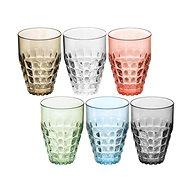 Guzzini Sada plastových pohárů 6ks TIFFANY 510ml, mix barev - Sada sklenic